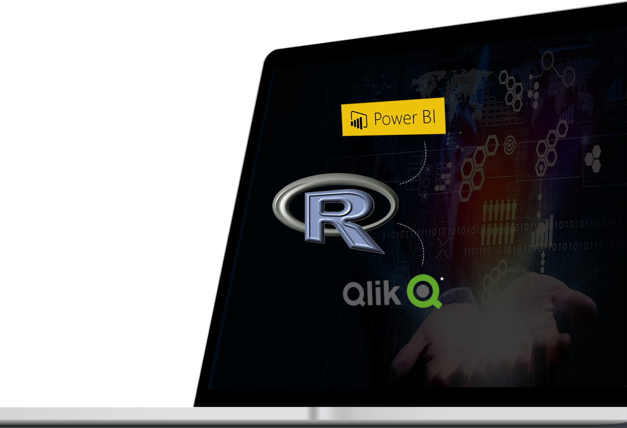 R Package Integration For Qlik, Tableau And Power BI