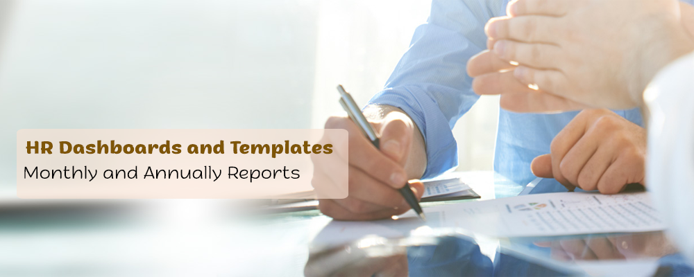HR Dashboards and Templates – Monthly and Annually Reports